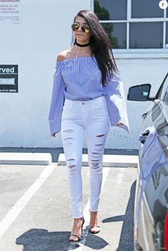 Kourtney Kardashian à Van Nuys, Los Angeles, le 27 juin 2016.