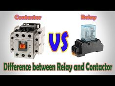 Difference between contactors and relays, Contactors and relays are two closely related terms leading to confusions and misinterpretations most of the times. Both of them are electrically. Electrical Components, Electrical Wiring, Electrical Engineering, Engineering Science, Mechanical Engineering, Electrical Transformers, Electrical Circuit Diagram, Home Design Floor Plans, House Wiring