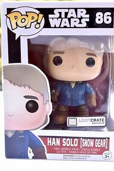 Star Wars Funko Pop Vinyl No. A collectible for Star Wars Fans Snow Gear, Star Wars Han Solo, Princess Leia, Funko Pop Vinyl, Secret Santa, Bobble Head, Gears, Secret Pal, Gear Train