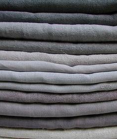 Grey linen. La Pouyette....: Old Linen - Part 2