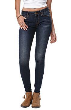 53d0f8d9ab0c3 Bullhead Denim Co Gryphin Dark Skinniest Jeans Size 1 Denim Co Jeans, Mom  Jeans,