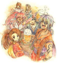 Tales of Phantasia series Tales Of Phantasia, Tales Series, D Gray Man, Reborn Katekyo Hitman, Vampire Knight, Doujinshi, Short Stories, Sailor Moon, Nerd