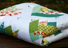 Floral Bouquet Quilt - folded   Flickr - Photo Sharing!