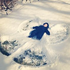 Baby's First Snow Angel