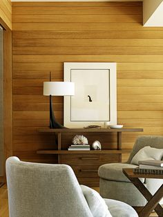 #lighting #tablelamp | Modern Bedroom in Malibu, CA by Barbara Barry Incorporated