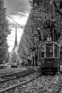 Torino escenográfica. Il tram. #steampunkcity