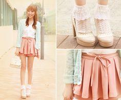 Strawberry Mint Lemonade ♥ (by Dotthy Wong) http://lookbook.nu/look/3149979-Strawberry-Mint-Lemonade