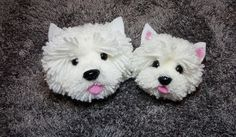 Pom Pom Crafts, Yarn Crafts, Dog Crafts, Pipe Cleaner Animals, Crafts To Make, Arts And Crafts, Pom Pom Animals, Do It Yourself Baby, Westies
