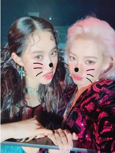 SNSD - HyoYeon & YuRi : Instagram Update 곧 ..SBS Inkigayo ( 인기가요 ) !! Holiday Night 마지막 방송..이번활동도 너무너무 고맙고# 효연이랑#내팅구