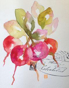…watercolor sketching in the journal book by Valerie Weller www.twig2neststudio.blogspot.com