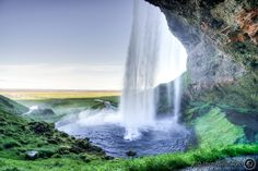 Walking around and behind a waterfall is something you can't do everywhere!