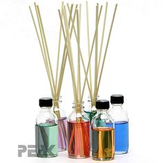 Make your own reed diffusers! So easy and inexpensive! #reeddiffuser #DIY #fragrance