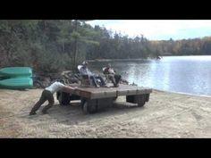 Techstar Plastics Wheel Float - YouTube Floating Boat Docks, Floating House, Lake Toys, Kayak Storage Rack, Lake Camping, Outdoor Spa, Barn House Plans, Pontoon Boat, Thing 1