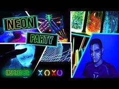 HAZ TU PROPIA FIESTA NEÓN AL ESTILO XOXO | Alejandro Hidalgo - YouTube Neon Party, Home Interior, Youtube, Inspiration, Watch, Neon Birthday Parties, Hacks, Style, Biblical Inspiration