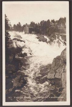 Aamot. Kongsfos. Skarpmoen 965. st. -1929. Kongsfoss kraftverker etvannkraftverkvedÅmotiModumkommune iBuskerudfylke. Kraftverket ble satt i drift i 2004, og utnytter et fall på 15meteri Kongsfossen iSimoa.