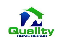 Quality home repair logo design