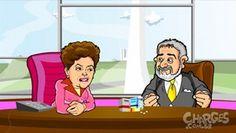 Galdino Saquarema Humor: É tanta merd.. q o negocio é dar risada Dilma e Lu...