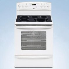 Kenmore®/MD 30 Electric Self Clean Convection Smoothtop Range - White - Sears Canada Shopping, Online Furniture, Mattress, Electric, Kitchen Appliances, Range, Cleaning, Stuff To Buy, Diy Kitchen Appliances