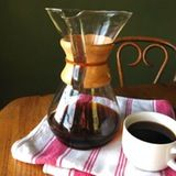 Not only is the Chemex brewer lovely to look at, it also makes great coffee.