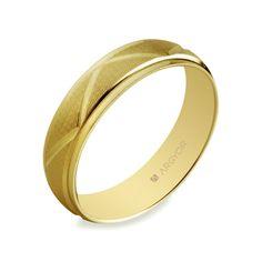alianza en oro amarillo