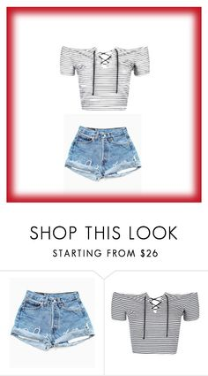"""""""Summer"""" by thelittleprincesse ❤ liked on Polyvore featuring Topshop"""