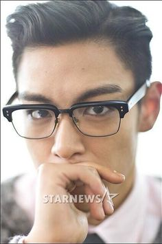 you don't like men with glasses? well, I think you should change your opinion