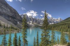 Canada, Lake Moraine by Rolien Beute on 500px