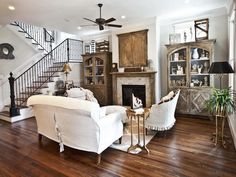 Get you Farmhouse Living Room Ideas and convert your boring rooms into large and spacious looking rooms taking these themes into consideration.