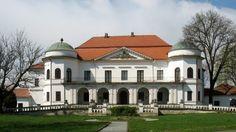 Nagymihályi Sztáray-kastély Homeland, Cape Cod, Pavilion, Hungary, Terrace, Villa, Art Deco, Exterior, Mansions
