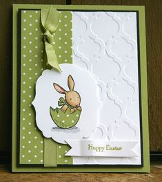 Stampin' Up Everybunny Easter Card