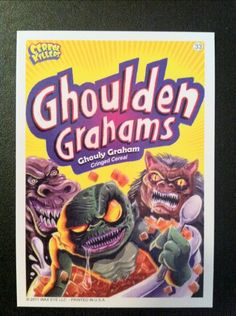 Cereal Killers trading cards by Joe Smiko
