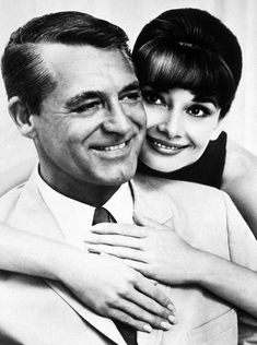 Two of my favorites!!!    Cary Grant & Audrey Hepburn
