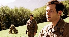 """Webster and Sisk in """"Part Ten: Points"""" Eion Bailey, Band Of Brothers, Ww2, Movie, Couple Photos, Couple Shots, Film, Cinema, Couple Photography"""