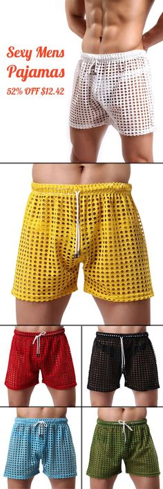 US$12.42 + Free Shipping. Sexy Mesh Hollow Super Breathable Soft Smooth Casual Fish Net-pants Men Homewear Shorts Pajamas. You Gonna Love it! #212vipmen #212vip #carolinaherrera #newzeland #212vipmen #212vip #212vipmenperfume #212vipmenfragrancia #212vipmenprecio #212vipmentienda #212vipmencomprar