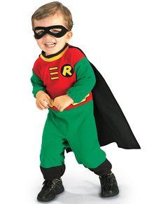 Fato de Robin Batman para bebé