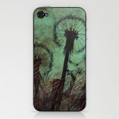Dandelion iPhone & iPod Skin by LoRo  Art & Pictures - $15.00