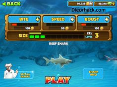 Hungry Shark Evolution Mod Apk Hack Unlimited Coins Gems | Mod Hacks