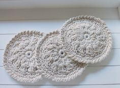 ... create your life !: CROCHET COASTER
