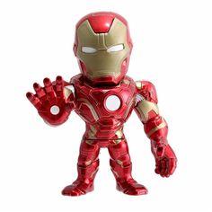 Faça parte das mais desafiadoras aventuras com os super-heróis mais poderosos da Marvel.     Trave batalhas épicas com o Homem de Ferro, Capitão América, Pantera Negra, Soldado Invernal e Viúva Negra.     Conheça as espetaculares Figuras Marvel de metal da DTC, são vários modelos para colecionar!     Com elas as crianças poderão soltar a imaginação e usar toda a criatividade para criar as mais incríveis brincadeiras.