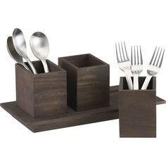 Plateau Flatware Caddy in New Dining & Entertaining | Crate and Barrel