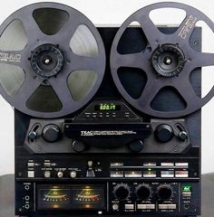 Vintage Studio Beauty: TEAC X2000R Reel-to-Reel Recorder.