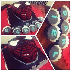 Cakes espiderman