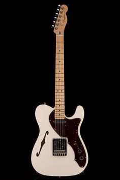 Guitar Center: Platinum : Fender 60th Anniversary Modern Thinline Telecaster Olympic White