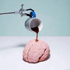 coffee and brain image