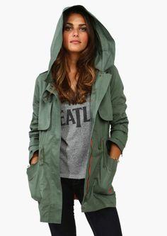 Army brat coat