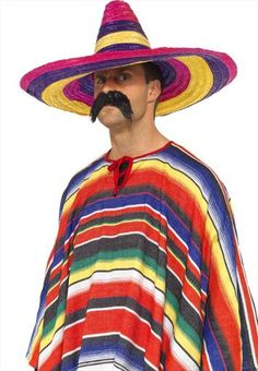 There's no doubt you'll add colour to your Mexican party in this fantastic sombrero!