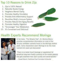 Top 10 Reasons to Drink Zija!