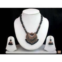 Terracotta designer jewellery-Jonathan CRAFTS VILLA