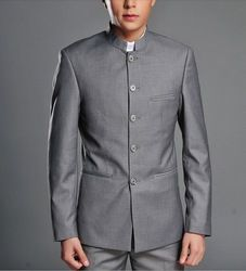 Online Shop 2014 new men's Chinese collar Zhongshan suit ,Folk style to suit,slim and fashion. For young people.color|Aliexpress Mobile