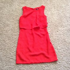 Blousey red dress- pristine condition! Only worn once! No snags or tears or anything. (**feel free to make an offer or ask me about bundles! Willing to make custom bundles with discounted prices if you ask and would post a listing just for you.) H&M Dresses